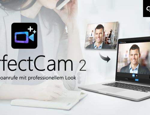 CyberLink kündigt PerfectCam 2 mit KI-basierender Hintergrundunschärfe für Videokonferenzen an