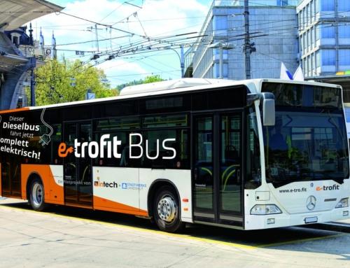 Bessere Luft in den Städten: in-tech stellt Umrüstlösung e-troFit für Stadtbusse vor