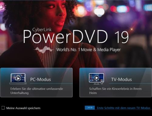 CyberLink PowerDVD 19: der weltweit erste Media Player mit 8K-Videowiedergabe