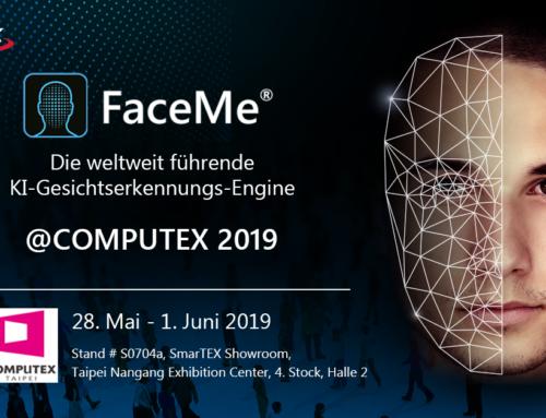 CyberLink präsentiert FaceMe® KI-Gesichtserkennungs-Engine auf der Computex 2019