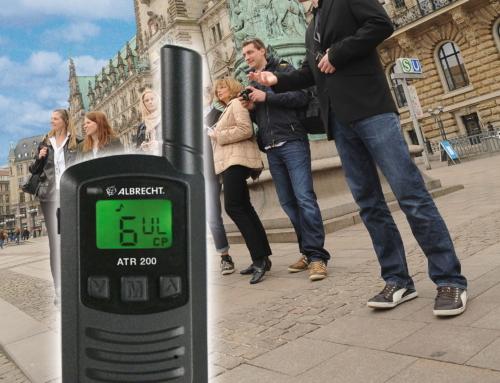 Albrecht Tour Guide Systeme auf der RDA EXPO in Köln