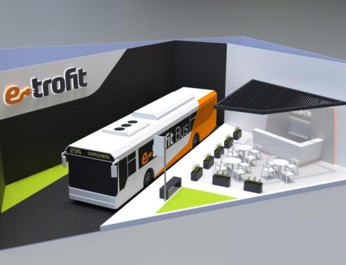 e-troFit auf der busworld: Verkaufsstart für neue Varianten