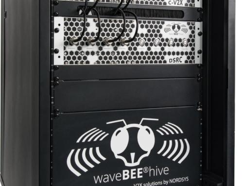 All-in-one-Systemlösung: Der waveBEE®hive von NORDSYS unterstützt neben C-V2X auch den ITS-G5-Standard