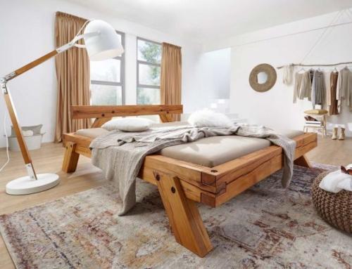Natürliche Ruheinseln: Betten aus Massivholz
