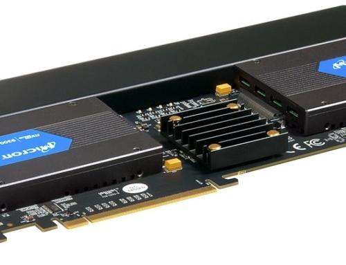 Ideal für den Mac Pro® 2019: Sonnet präsentiert die Hochleistungs-Speicherkarte Fusion™ Dual U.2 SSD PCIe®
