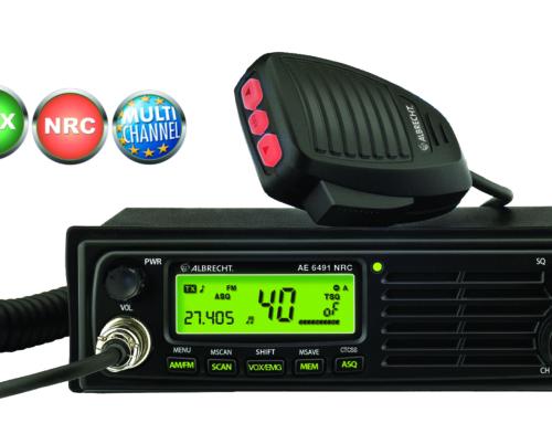 Freisprechen mit perfekter Audioqualität beim Funken während der Fahrt – Neue CB-Funkgeräte von Albrecht erfüllen aktuelle StVO