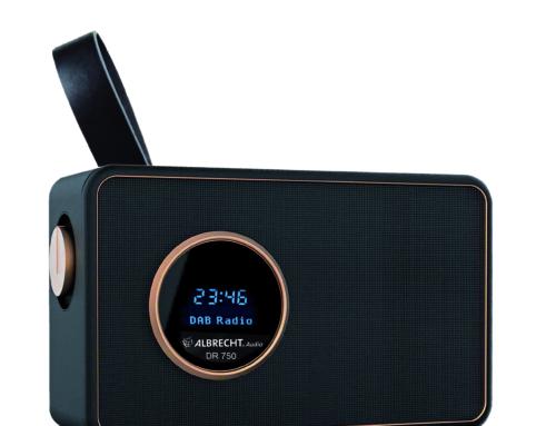 Albrecht DR 750 und DR 884: Zwei neue Digitalradios in edlem Design