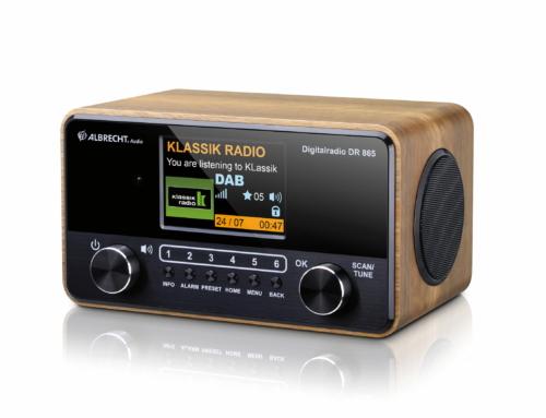 Albrecht DR 865 Senior: Das bedienerfreundliche Digitalradio überzeugt mit großem Farbdisplay und starkem Stereo-Klang