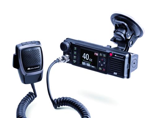 Midland M-88: Hightech-CB-Funkgerät mit Farbdisplay für alle europäischen Länder