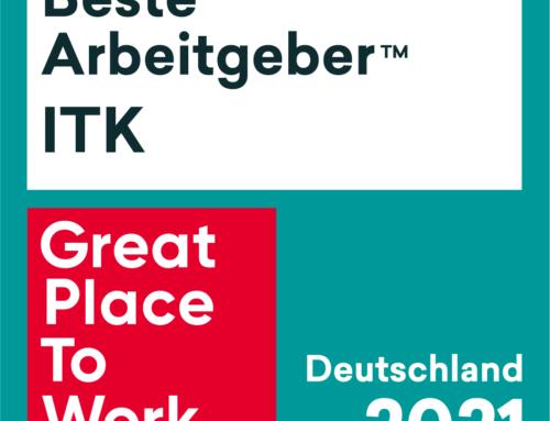 """in-tech erhält doppelte Great Place to Work®-Auszeichnung """"Bayerns beste Arbeitgeber"""" und """"Beste Arbeitgeber in der ITK"""""""