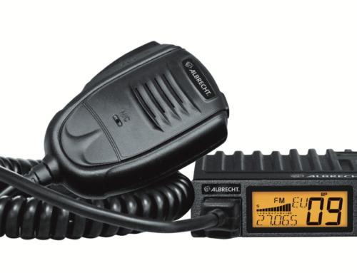 Sicher durch die neue StVO: Albrecht präsentiert neues Multistandard AM/FM CB-Funkgerät für Europa mit VOX-Funktion