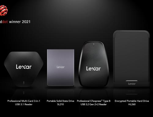 Lexar gewinnt vier Red Dot Design Awards 2021