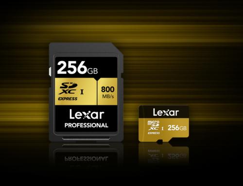 Lexar kündigt die Entwicklung von SD Express Speicherkarten an