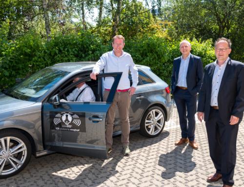 Staatssekretär Stefan Muhle besucht die Braunschweiger NORDSYS GmbH
