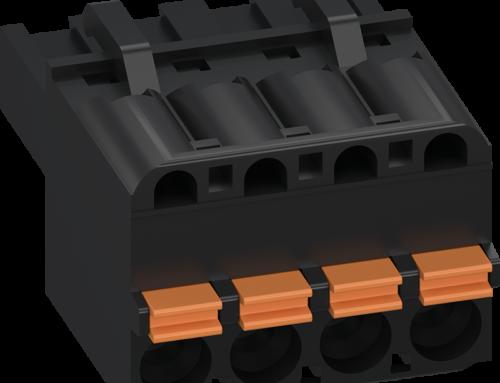 WECO stellt die schraublose Steckverbinder-Systemreihe 120/121 für industrielle Thermostatsteuerungen vor