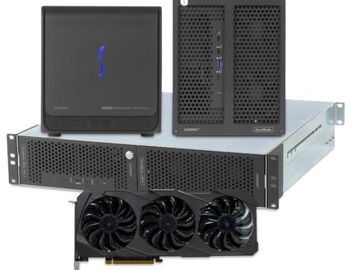 Sonnet präsentiert neue Thunderbolt™ eGPU-Hochgeschwindigkeitssysteme mit AMD Radeon-Power